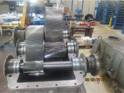 Repairing gearbox Rademakers Ratar 1120-S