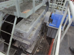 Inspection and repair on ZPMC FH1200.24.A1B gearbox