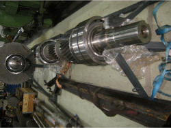 Inspection and repair of JSW DRS-150.9-LHP gearbox