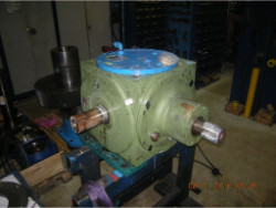 Inspection of a FLENDER SPL290 gearbox