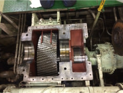 Inspection and repair of FLENDER G1VY gearbox