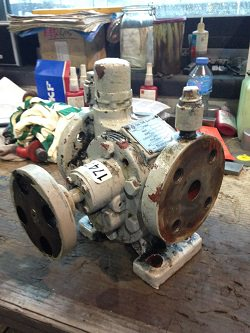 Inspection and repair of ITAYA GR CH204 gearbox