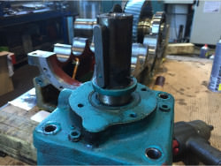 Repair of Brook Hansen RDC44K-ANR-200 gearbox