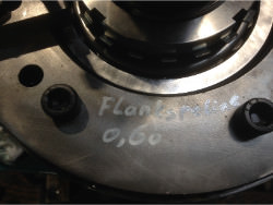 Inspection of a FLENDER P2SB-22 gearbox