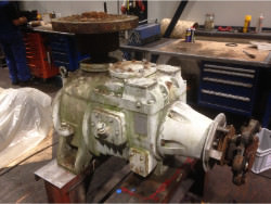 Gearbox overhaul of MARLEY 22.2