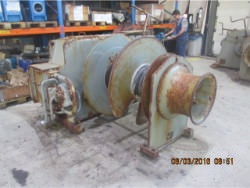 Inspection and repair of BRUSSELLE AMO 10/1-1-1 gearbox