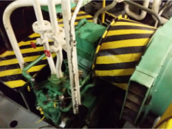 Service on a ASUG gearbox