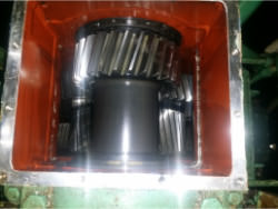 Inspection and repair of ASUG GDG 1265x8,9 gearbox