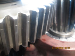 Inspection of a FLENDER SDOS 360 gearbox