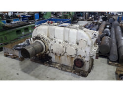 Inspection of a FLENDER SVN 500 gearbox