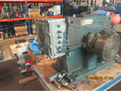 Inspection and repair of gearbox DAVID BROWN