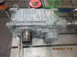Repair and inspection of SEW MC3RLHF03 gearbox
