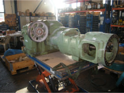 Gearbox repair of brand TGW 107
