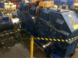 Inspection and repair on PWH 3-SG-710-II gearbox