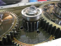 Gearbox repair of brand Flachgetriebe D22 gearbox