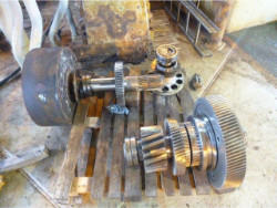 Gearbox repair of brand TGW AW SCN 560/W3/S