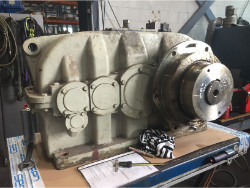 Repair gearbox of brand W.G.W. NK SDN-280