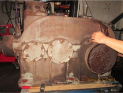 Inspection of a BIERENS K2A3-70 gearbox