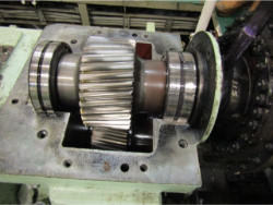 Inspection and repair of FLENDER G1VY size 670 gearbox