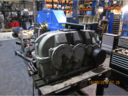 Repair gearbox of brand W.G.W. NK SDN 280