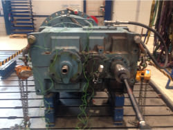 Inspection of a FLENDER PEAK 4280 gearbox