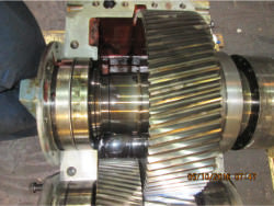 Inspection and repair of FLENDER PEAK 4280 gearbox