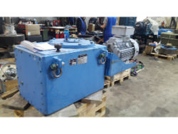 Inspection and repair of Chemineer 7-HTN-25 gearbox