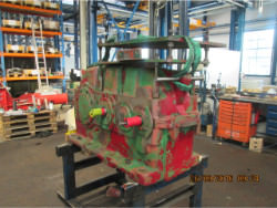 Inspection of a FLENDER SDN 400 gearbox