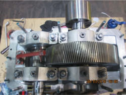 Inspection and repair on MAAG Gs-22 gearbox