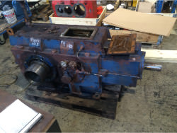 Inspection and repair on PHB KSZg 355 Pu gearbox