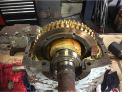 Repair of HIGHFIELD 45587/3/49/2 gearbox