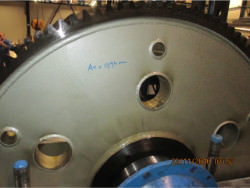 Inspection and repair of DEMAG 200 ZW/KR gearbox
