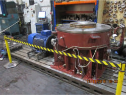 Inspection and repair of FLENDER KMP-200 gearbox