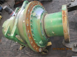 Inspection of a FLENDER KBH P2SB-22 gearbox