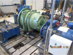 Inspection and repair of FLENDER KBH P2SB-22 gearbox