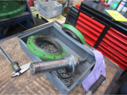 Inspection and repair of HALBERG RTDB 1000-76x2 gearbox