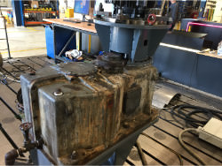 Repair of gearbox Kissling VDRU-550 LEM