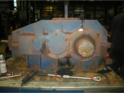 Repair gearbox of brand W.G.W. KCH 250