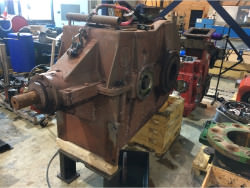 Repair gearbox of brand W.G.W. KSHK 1330 S/So
