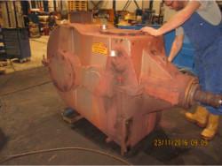 Repair gearbox of brand W.G.W. KSHK 1330 S/So