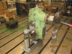Inspection and repair of FLENDER Sonder 195 gearbox