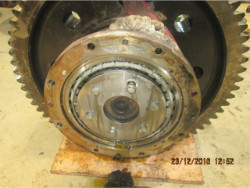 Inspection and repair on PHB 3 SG 710 II gearbox
