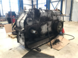 Inspection and repair on PWH 2-SG-900 gearbox