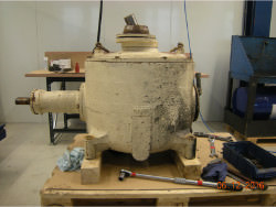 Inspection and repair of gearbox LOCKER-ROTEX