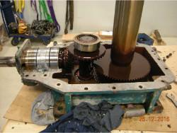 Repair of Brook Hansen QVRD2-CUN gearbox