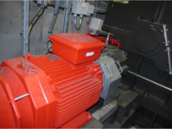Inspection and repair of EISENBEISS DD879H gearbox