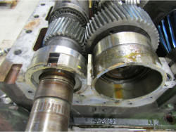 Inspection and repair of FLENDER H3-SH-14 gearbox