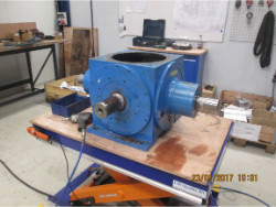 Inspection and repair of FLENDER SPL290 gearbox