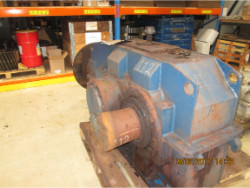 Inspection and repair of FLENDER KBH 400/S/So gearbox