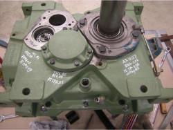 Repair of HANSEN RNA26-BN gearbox